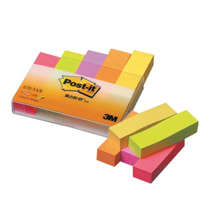 3M Post-it 670-5AN(형광5색)