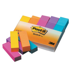 3M Post-it 670-5UC(형광5색)